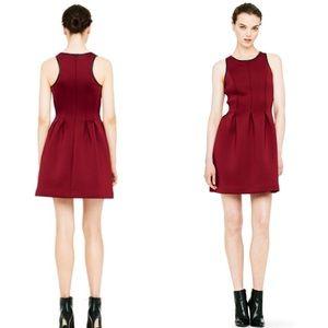 Club Monaco Burgundy Dress Size 00